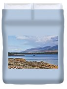 View Of The Isle Of Arran Duvet Cover