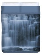 View Of Water Cascading Duvet Cover