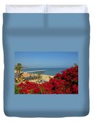 View Over Paradise Duvet Cover