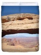 View Through Mesa Arch Duvet Cover