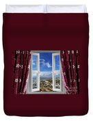 View To The World Duvet Cover