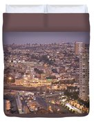 Views From Paseo Atkinson, On Cerro Duvet Cover