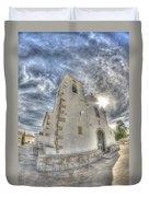 Village Church Duvet Cover