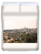 Village Of Beitin Duvet Cover