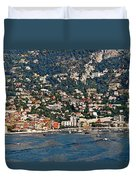 Villefranche Hillside II Duvet Cover