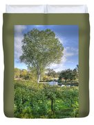 Vines And Trees Duvet Cover
