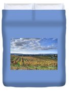 Vines In Fields Duvet Cover