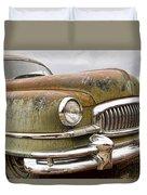 Vintage 1951 Nash Ambassador Front End Duvet Cover