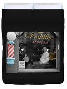 Vintage Barbershop 2 Duvet Cover