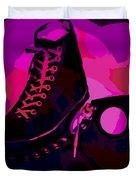Vintage Basketball Shoes Duvet Cover