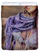Vintage Belly Dancer Duvet Cover