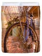 Vintage  Bicycle Duvet Cover
