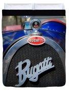 Vintage Bugatti Duvet Cover