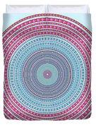 Vintage Color Circle Duvet Cover