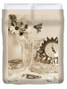 Vintage Dressing Table Duvet Cover