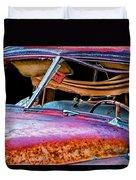 Vintage Frazer Front Window Auto Wreck Duvet Cover