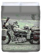 Vintage Iron Duvet Cover