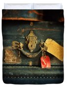 Vintage Luggage Duvet Cover