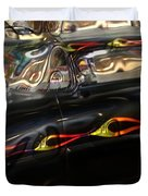 Vintage Metal Duvet Cover
