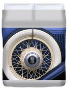 Vintage Nash Tire Duvet Cover