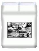 Vintage Niagara Falls Duvet Cover