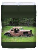 Vintage Racer Duvet Cover