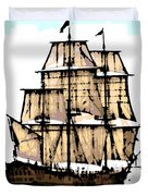 Vintage Sails Duvet Cover