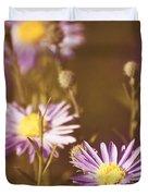 Vintage Violet  Duvet Cover