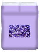 Violet Beads And Sequins Duvet Cover