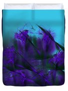 Violet Growth Duvet Cover