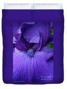Vision In Violet Duvet Cover
