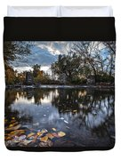 Visions Of Fall Duvet Cover