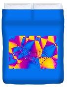 Vitamin B6 Crystal Duvet Cover
