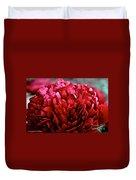 Vivid Red Duvet Cover