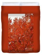 Vividly Sugar Maple Duvet Cover