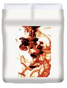 Volcanic Eruption Duvet Cover
