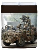Vw Iltis Jeeps Used By Scout Or Recce Duvet Cover