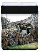 Vw Iltis Of The Special Forces Group Duvet Cover