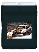 Wagon Of Rust Duvet Cover