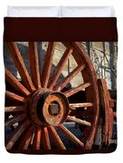 Wagon Wheel Duvet Cover