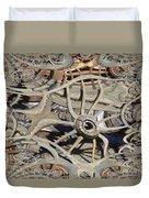Wagon Wheel Fractal Duvet Cover