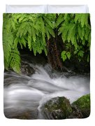 Wahkeena Falls One Duvet Cover