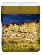 Wahweap Cliff Duvet Cover