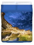 Wahweap Hoodoo Trail Duvet Cover