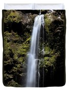 Waikani Waterfall Duvet Cover
