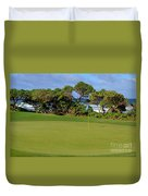 Wailua Golf Course - Hole 17 - 3 Duvet Cover
