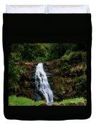 Waimea Valley Falls Duvet Cover
