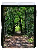 Walk In The Woods Duvet Cover