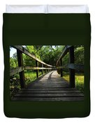 Walk This Way To Nature Duvet Cover