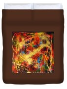 Walk Through The Fire Duvet Cover